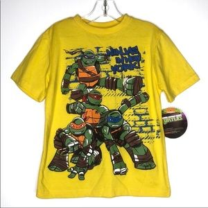 TMNT Classic Graphic Short Sleeves T-Shirt Size 7